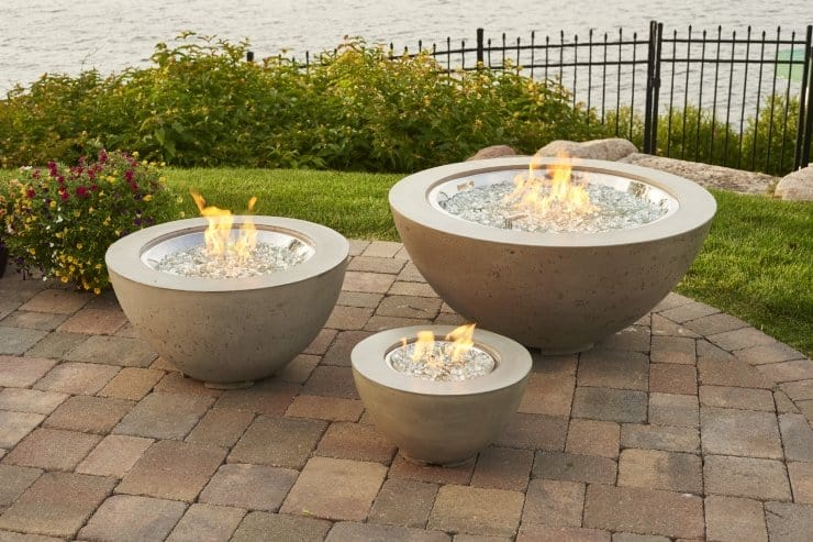 "Cove 12"" Gas Fire Pit Bowl 1"